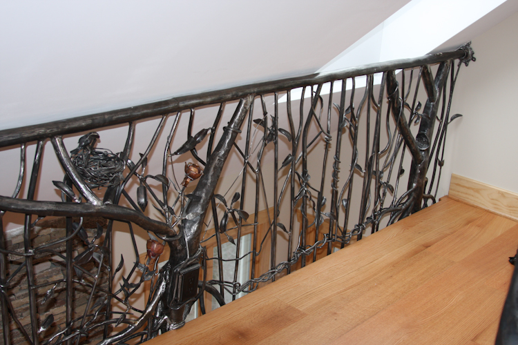 Galleries blue mountain metalworks custom ornamental Decorative railings