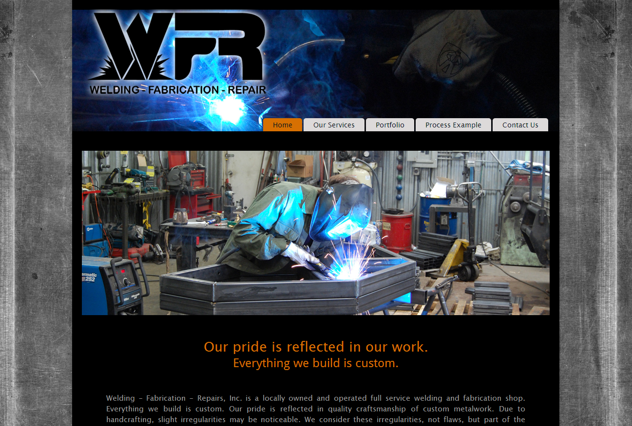 WFR: Welding Fabrication and Repair